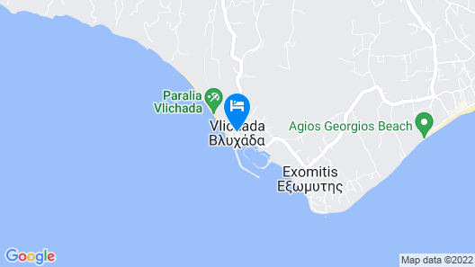 Stellas Guest House Map