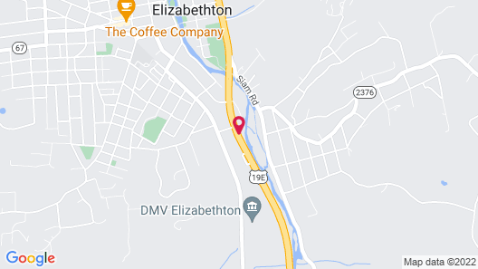 Americourt Hotel Map