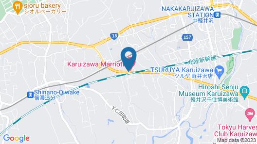 Karuizawa Marriott Hotel Map
