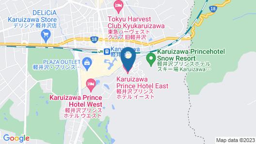 Karuizawa Prince Hotel East Map