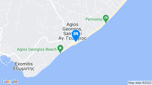 Santo Miramare Resort Map