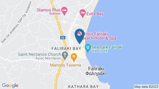 Bivalvia Beach Plus Map