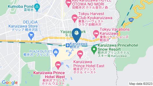 APA Hotel Karuizawa-Ekimae Karuizawaso Map