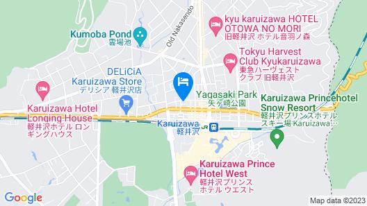 Hotel Rosso Karuizawa Map