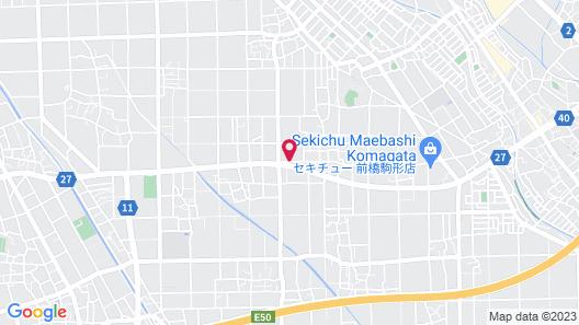Family Lodge Hatagoya Maebashi Minami Map