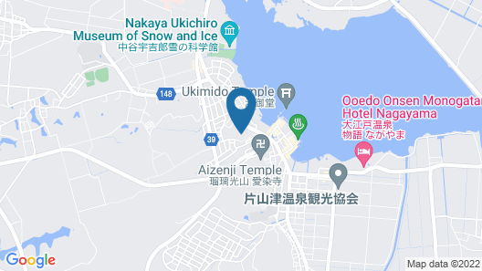 Yukai Resort NEW MARUYA Hotel Bekkan Map