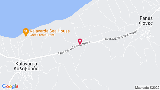 Ecotel Saint George Map