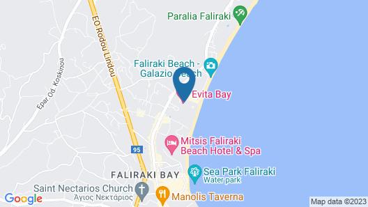Evita Bay Map