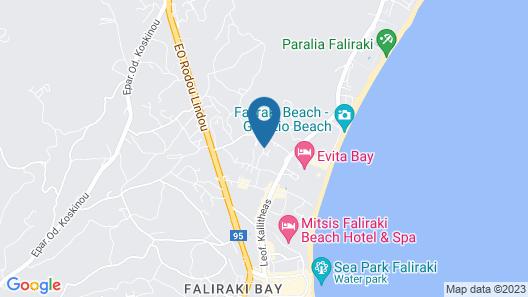 Sun Palace Hotel Map