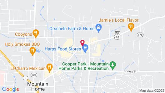Mountain Home Inn Map
