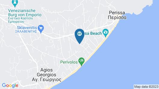 9 Muses Santorini Resort Map