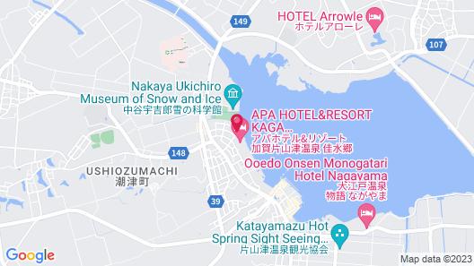Kagakatayamazuonsen KASUIKYO (APA HOTELS & RESORTS) Map