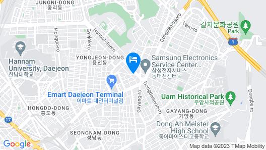 Hotel Look Map