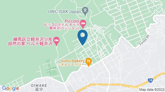 Karuizawa Guest House Dorakuso - Hostel Map
