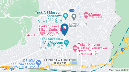 Le Grand Kyu Karuizawa Map
