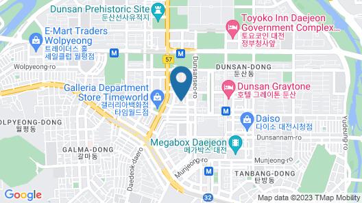 EAN Residence Hotel Map