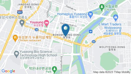 Hotel Interciti Map
