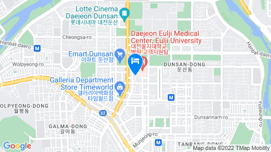 Residence Hotel LINE Map