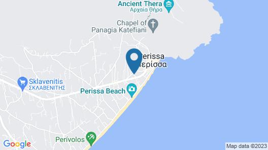 Irigeneia Hotel Map