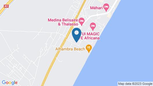 Hotel Alhambra Thalasso Map