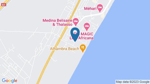 Hasdrubal Thalassa & SPA Hammamet Map