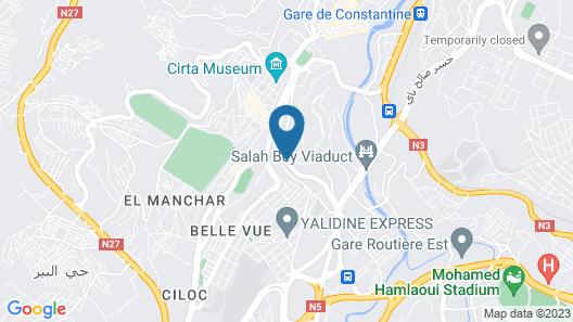 Protea Hotel Constantine Map