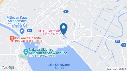 Hotel Arrowle Map