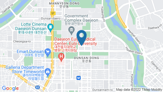 Toyoko Inn Daejeon Government Complex Map