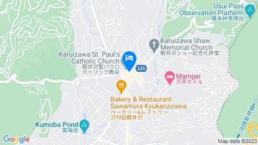 Hotel Karuizawa Cross Map