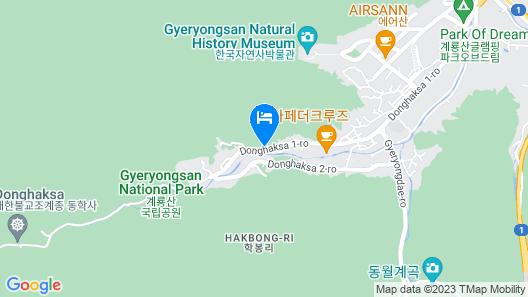 Gongju The Shim Pension Map