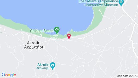 Ambassador Aegean Luxury Hotel and Suites Map