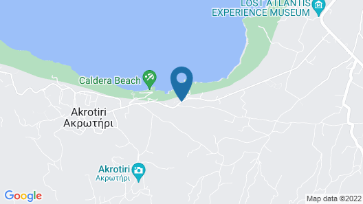 Ambassador Aegean Luxury Hotel and Suites Map