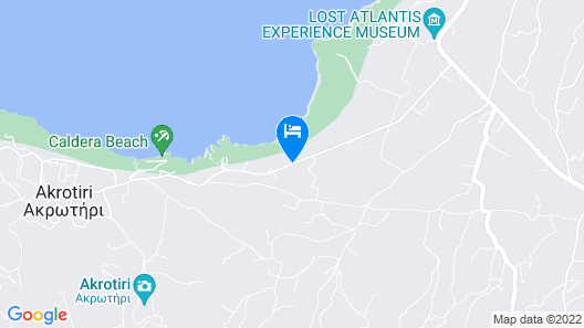 Santorini Princess Presidential Suites Map