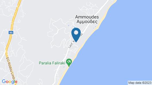 Esperides Beach Resort Map