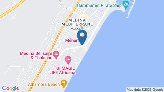 Medina Belisaire & Thalasso Hotel Map