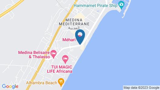 Mehari Hammamet Map