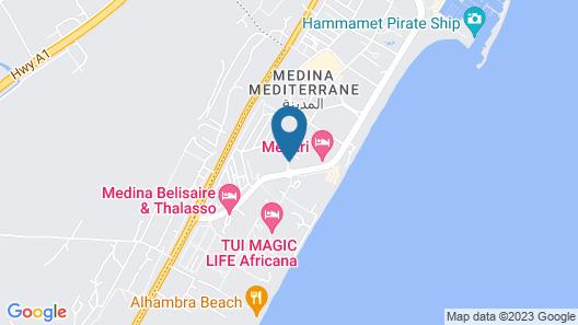 Zodiac Hotel Map
