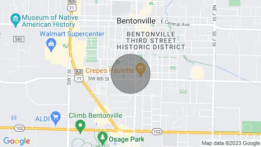 ★NOMAᗪ'S FLᗩT »  Walk 2 Walmart HQ & DT » Arts District Map