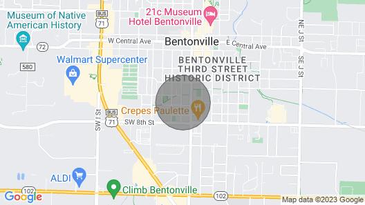 Epot 16 » Walk 2 Walmart HQ & DT » Arts District! Map