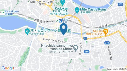 Court Hotel Mito Map