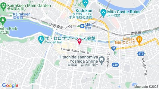 President Hotel Mito Map
