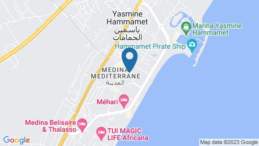 hawai appartement Map