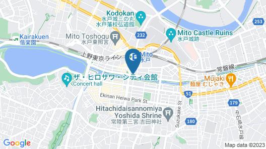 APA Hotel Mito-ekimae Map