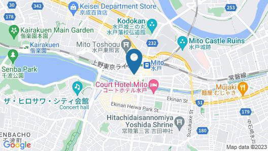 Daiwa Roynet Hotel MITO Map