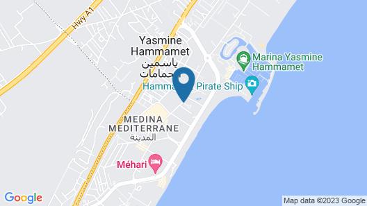 Medina Solaria & Thalasso Map