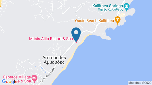 Mitsis Alila Resort & Spa – All Inclusive Map