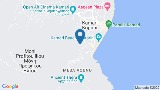 Aegean View Hotel Map