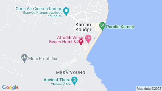 Tamarix del Mar Suites Map