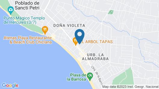Hospedería Santiago Map