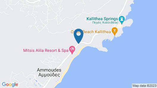 Elysium Resort & Spa Map